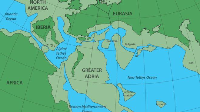Gran Adria, el continente perdido bajo Europa