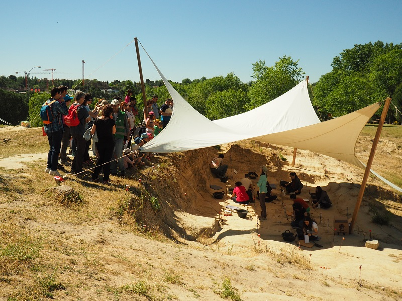 Yacimiento paleontológico de Somosaguas